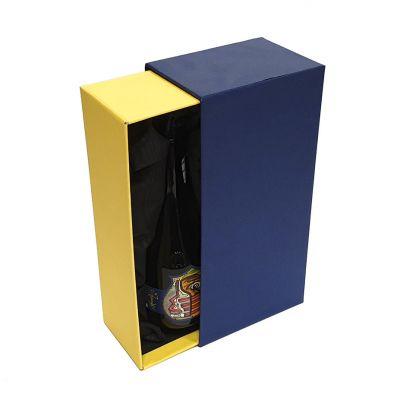 Scatola a cassetto per vini e bottiglie