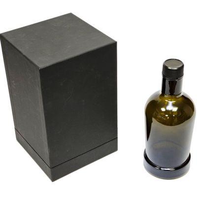 Scatola con coperchio alto per vino e bottiglie